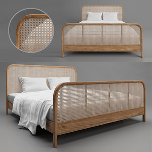 3D bed indochine