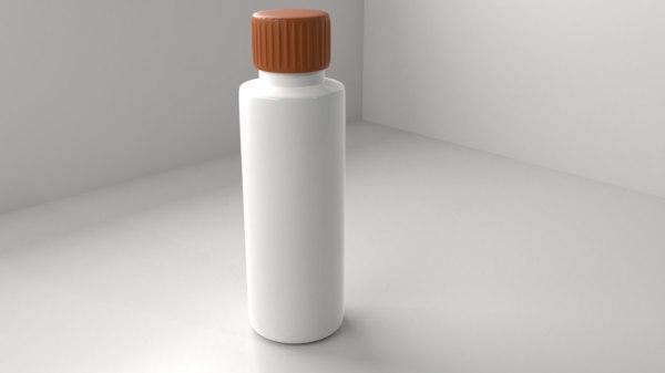 plastic bottle 5 model