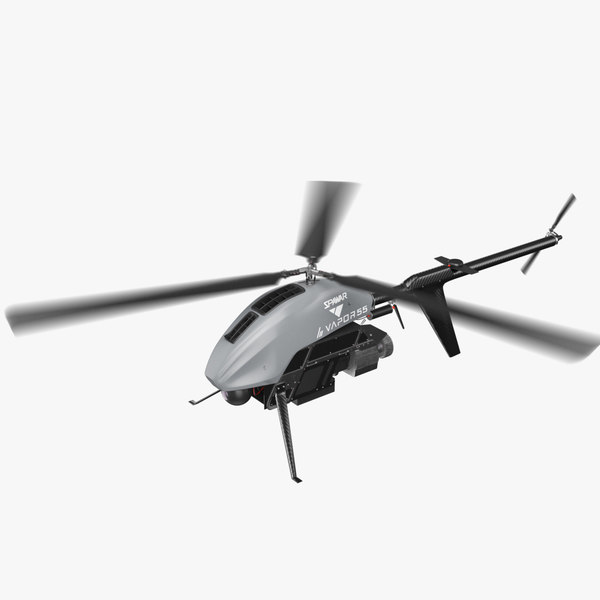 drone helicopter vrapor 55 model