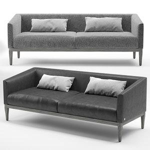 3D life sofa busnelli