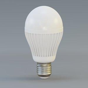 3D bulb designed model