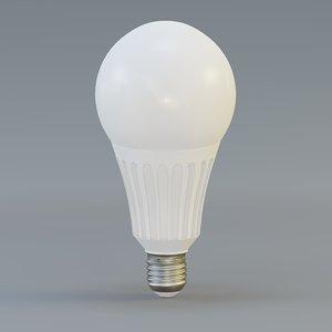 bulb designed 3D model