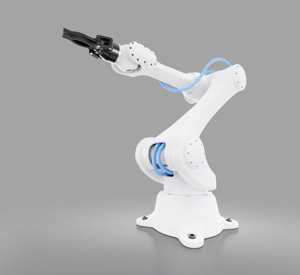 industrial robotic 3D model