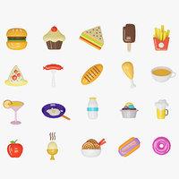 20 Icons Food