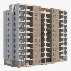 3D apartment buildings 42