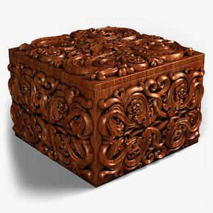3D casket