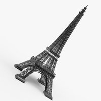 france eiffel tower 3D