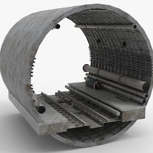 metro railway tube model