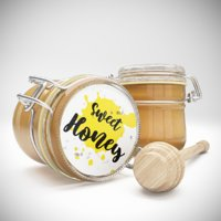 jars honey 3D