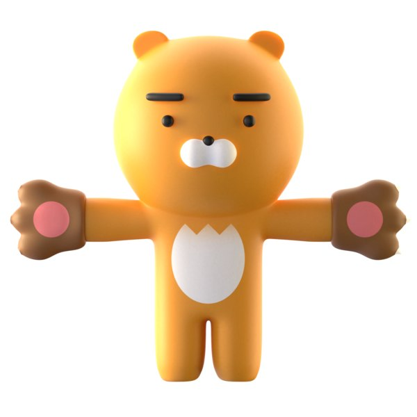 rig character ryan 3D model