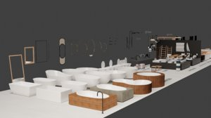 3D bathroom pack