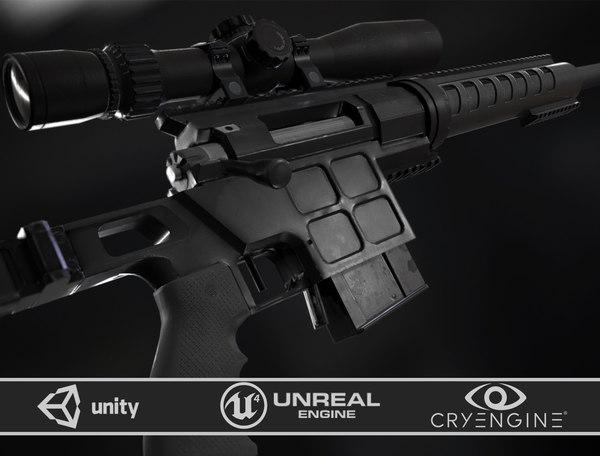 3D dvl-10 m2 tactical model