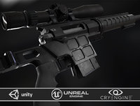DVL-10 M2 URBANA and March Tactical 3-24x42 FFP