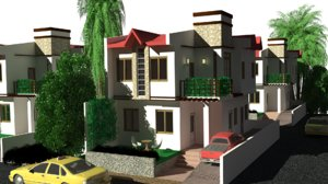 canopy house 3D model