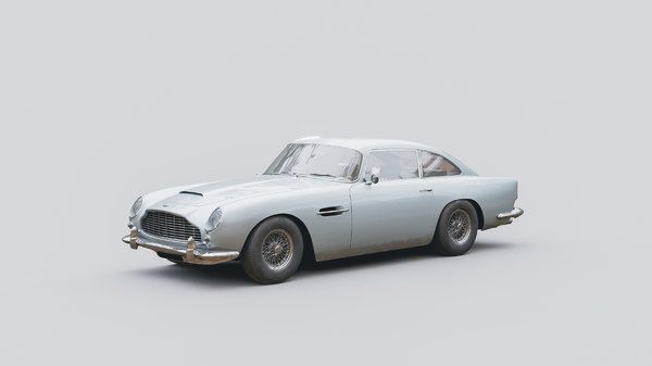 Aston Martin Db5 1964 3d Modell Turbosquid 1428388