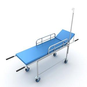 stretcher ambulance trolley model