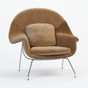 3D armchair womb