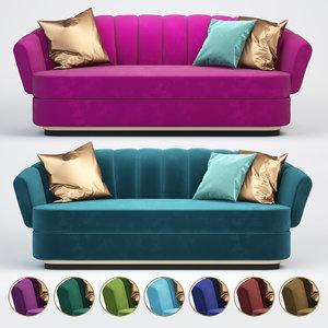 brabbu powel sofa 3D model