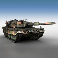 3D swiss leopard - panzer