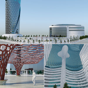 3D future city model