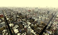 Extremly Large scale city (cityscape)