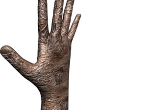 scary hand 3D