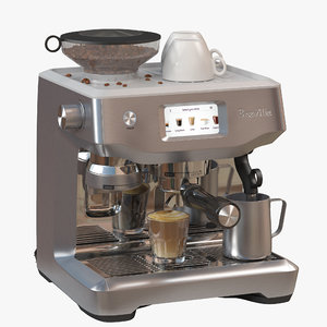 breville oracle touch 3D model