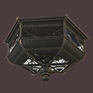 fine art lamp 3D