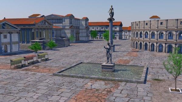 3D urban classical model