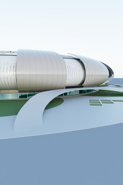 3D stadium soccer sport