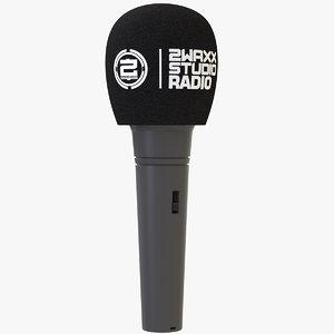 3D microphone bonnette foam filter