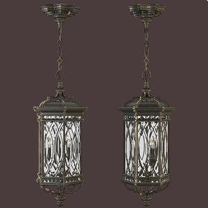 fine art lamp 3D model