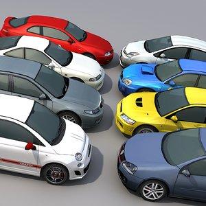 vehicles car 3d model