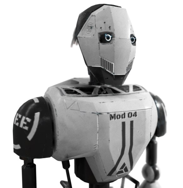 robot real time 3D