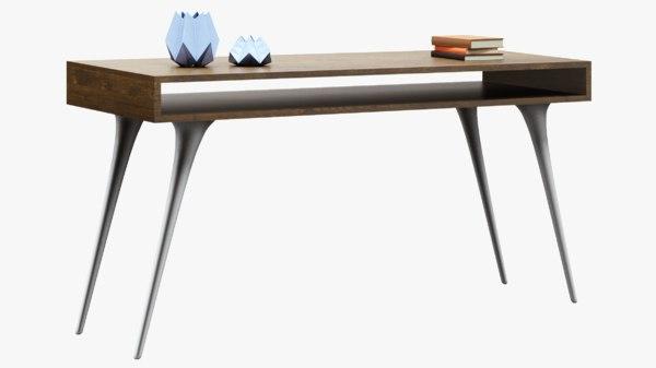 3D sideboard wooden modern
