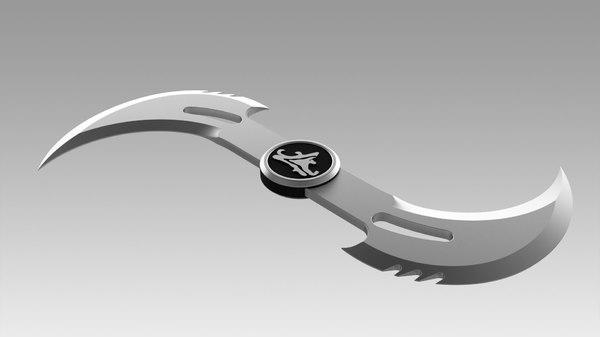 sword blade 3D model