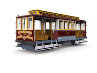 san francisco municipal railway 3D