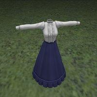 3D fitting dress