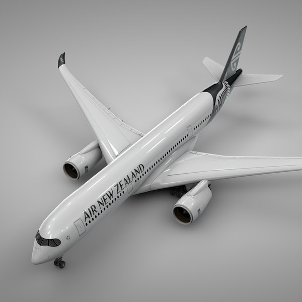 3D model airbus a350-900 air new