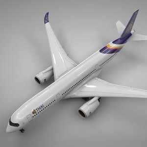 airbus a350-900 thai airways model