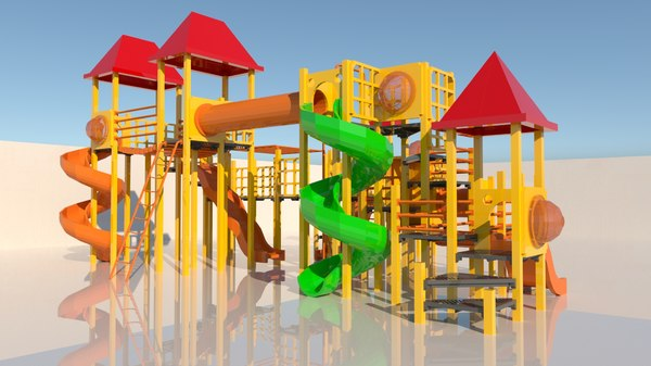play playground 3D model