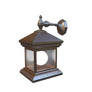 3D model lamplight light