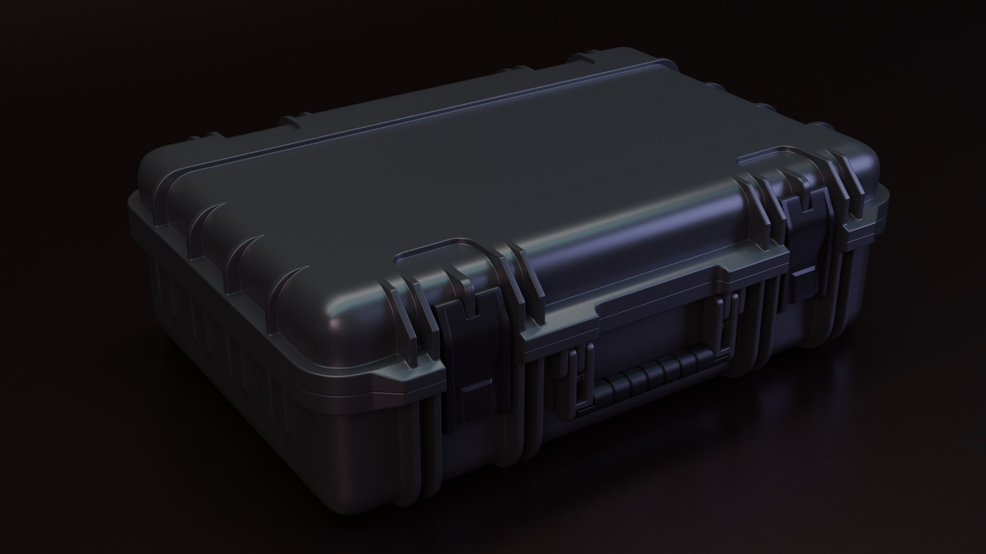 container props 3D model