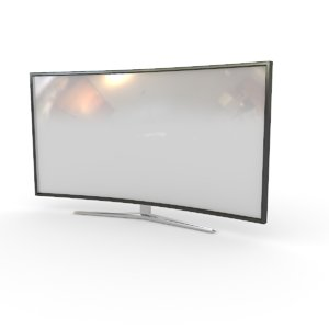 3D model tv television electronic