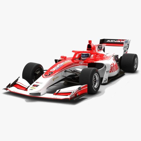 3D kondo racing 3 super model