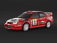 Mitsubishi LancerEvolution 6 Rally car