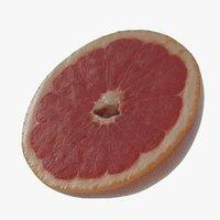 Grapefruit 02 Pink half