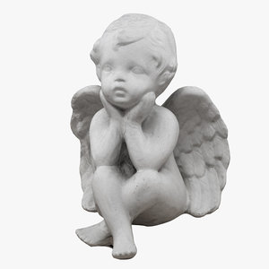 3D angel scanned realistic