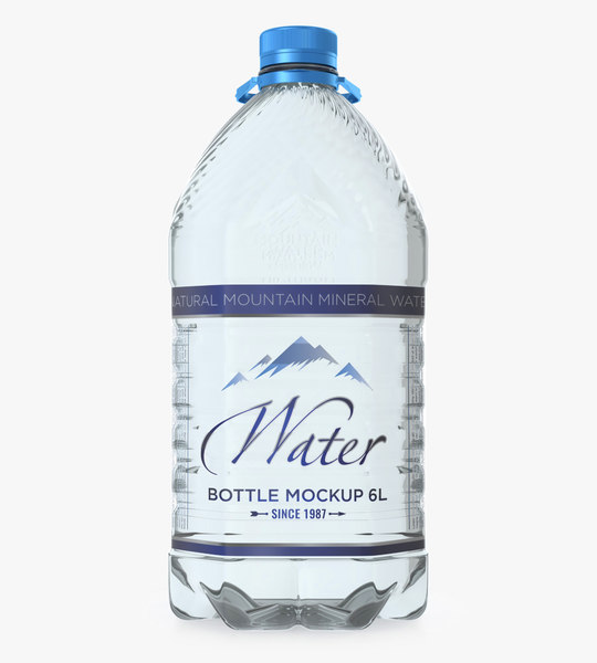 pet bottle 6 l 3D model