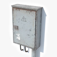 3D model electric box